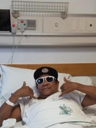 Após susto, Liminha diz se recuperar aos poucos e já fazendo fisioterapia