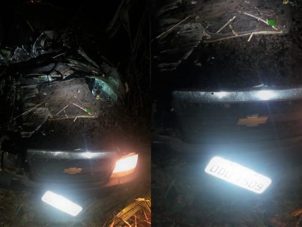 Homem de 39 anos morre em acidente envolvendo caminhonete S-10 na BR 316 em Monsenhor Gil