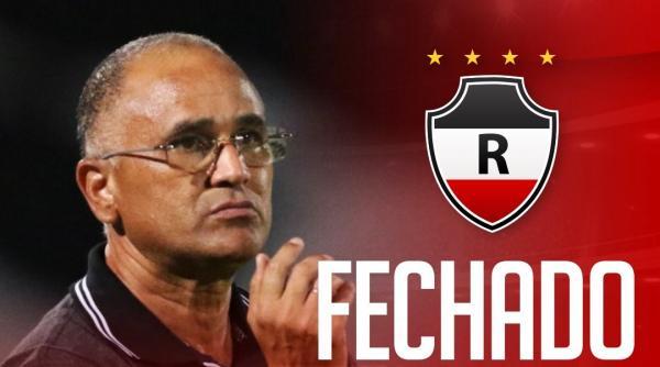 Oliveira Canindé é o novo técnico do River Atlético Clube