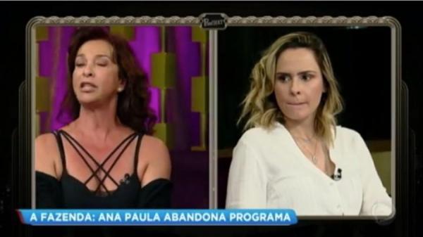 Vida Vlatt bate-boca com Ana Paula, que abandona programa