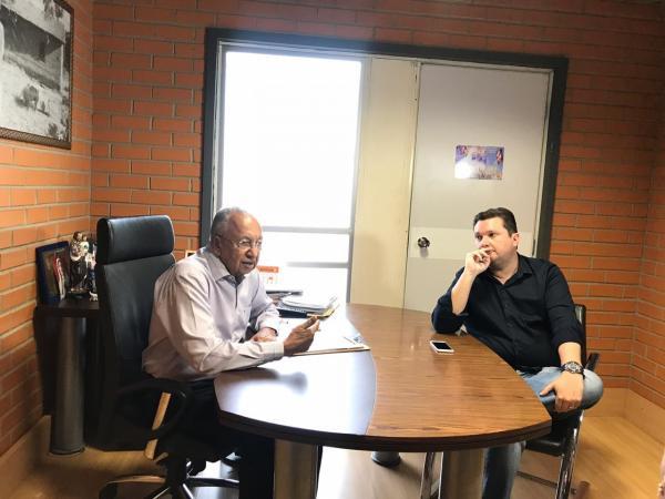 Dr. Pessoa e Fábio Sérvio oficializam apoio a Jair Bolsonaro