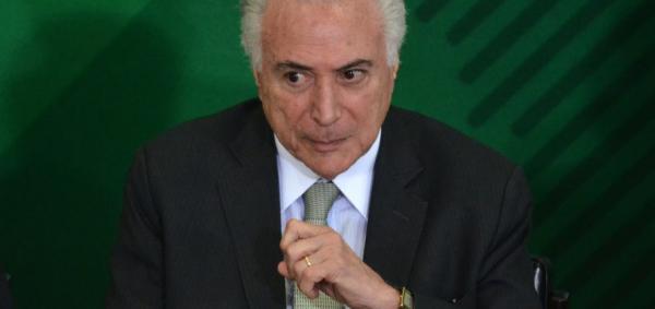 Marun diz que Temer está 'indignado' com indiciamento da PF