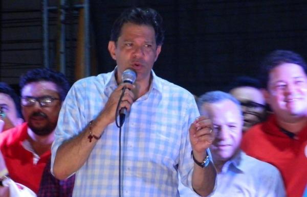 Fernando Haddad centra discurso em ataques a Bolsonaro em Picos