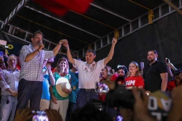 Fernando Haddad e Wellington Dias reúnem multidão em ato público em Picos