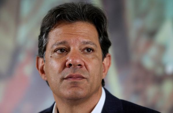 Fernando Haddad (PT) é candidato ao segundo turno nas eleições presidenciais de 2018 (Amanda Perobelli/Reuters)
