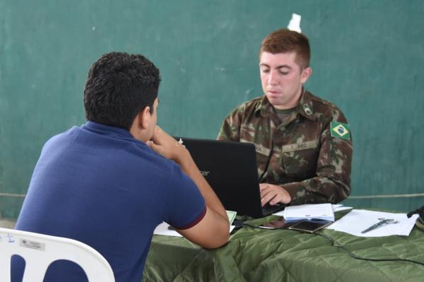 Após 20 anos, processo de seleção para serviço militar volta à Floriano