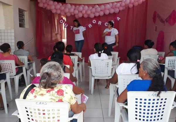 Saúde de Santo Antônio dos Milagres promove campanha educativa em alusão ao Outubro Rosa