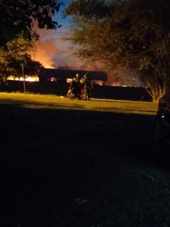 Incêndio atinge área verde da Universidade Estadual do Piauí