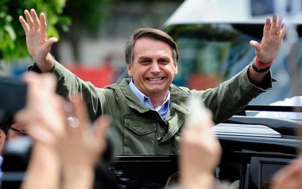 Jair Bolsonaro é eleito o novo presidente da República
