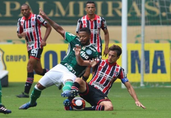 Palmeiras domina partida e goleia São Paulo
