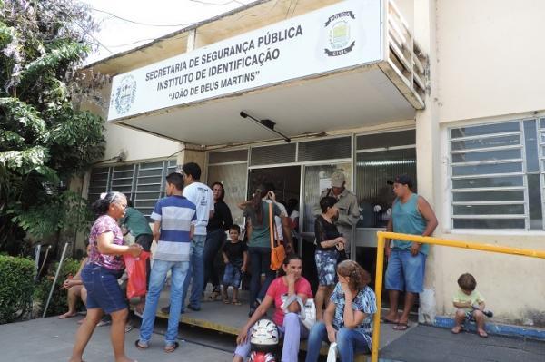 Instituto de Identificação do Piauí (Foto: Divulgação/MP-PI)