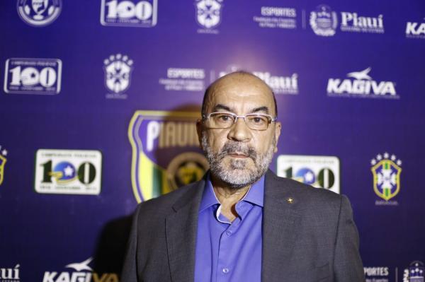 Morre aos 63 anos em Teresina, Cesarino Oliveira, presidente da Federação de Futebol do Piauí