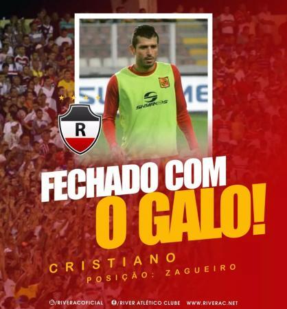 River contrata zagueiro que atuou na base do Corinthians