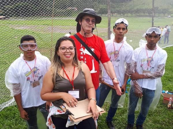 Alunos agricolandenses participam de jornada de foguetes no Rio de Janeiro