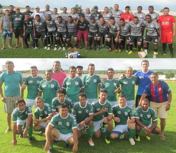 Seleção de Lagoa do Piauí e São Félix do Piauí, pelo grupo A da competição (Imagem: MJ)