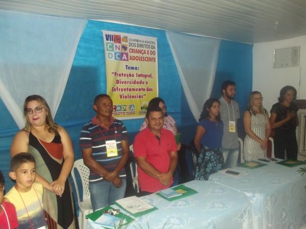 Abertura da 7ª Conferência dos Direitos da Criança e do Adolescente em Agricolândia