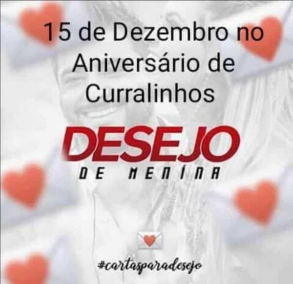 Prefeito Alcides Oliveira confirma Desejo de Menina para o aniversário de 22 anos de Curralinhos