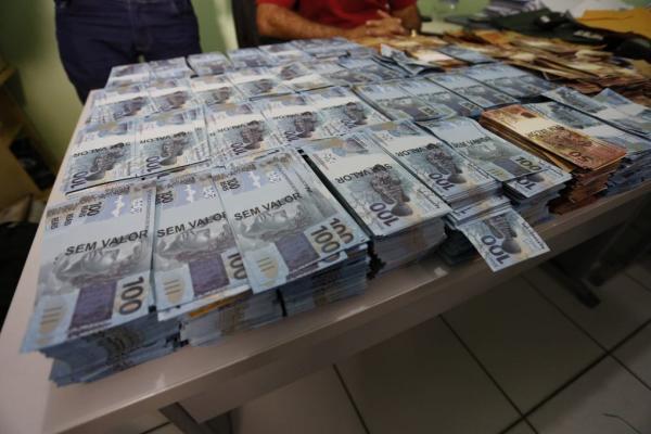 Polícia Civil apreende quase R$ 3 milhões em notas falsas na zona leste de Teresina
