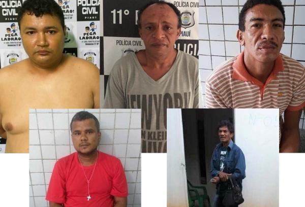 Teresina   Polícia prende 5 em operação contra agressores de mulheres