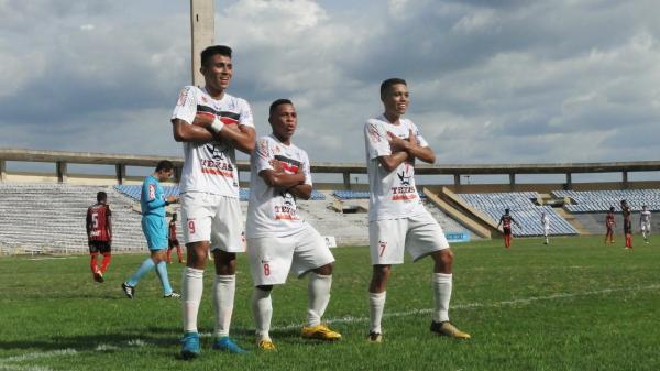River vence Moto Club por 10 a 0 na Copa do Nordeste Sub-20