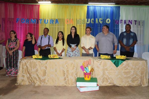 São Pedro do PI | Escola infantil Dalva Andrade realiza colação  de grau