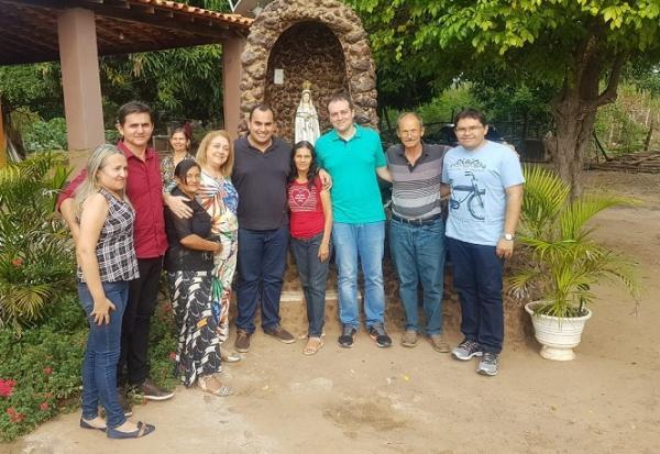 Deputado Georgiano visita comunidade Pedras e declara apoio PSD no município