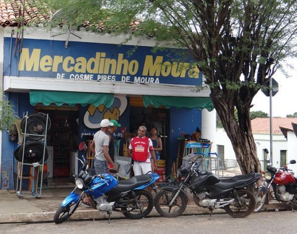 Comerciante é feito refém e tem mais de R$ 90 mil levado por assaltantes em São Pedro do Piauí