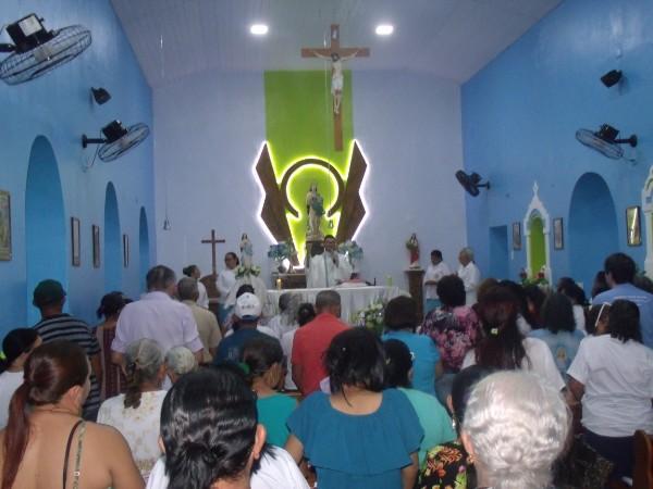 Encerramento do festejo de Prata do Piauí