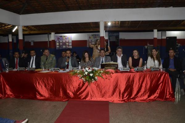 Sessão Solene para entrega de título de honraria agricolandense (Imagem: Valdomiro Gomes/CANAL 121)