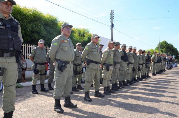 Policiais militares do Médio Parnaíba participam de treinamento sobre TCO e registro de BO