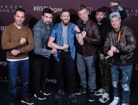 Backstreet Boys faz 25 anos com novo disco em janeiro de 2019