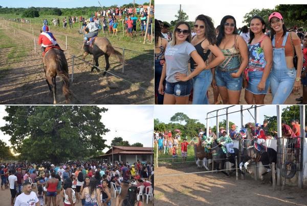 Tradicional corrida de cavalos do povoado Buriti reúne pessoas de diversas localidades; veja imagens