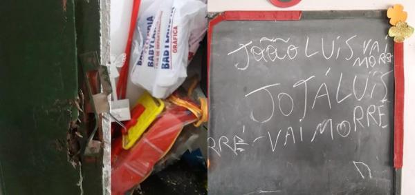 Bandidos arrombam creche e ameaçam policial de morte (Imagem: Divulgação)