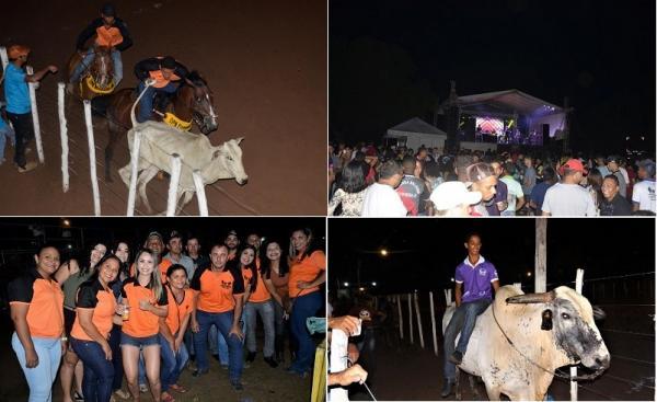 Pega de boi é realizada em Regeneração com grande show com Marcos Silva, Forró Bandido e Forró Safado