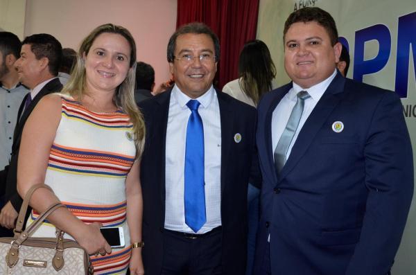 Prefeito Jonas Moura é empossado presidente da APPM em solenidade com diversas autoridades