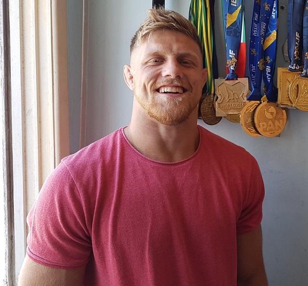 Fábio é atleta de MMA, do Rio Grande do Sul, e foi desclassificado do BBB19 (Imagem: Divulgação/Gabriel Alberto / Gshow)