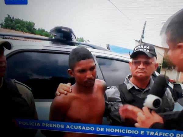 Preso acusado de ser o mentor da morte do professor Landel Franklim em São Pedro do Piauí