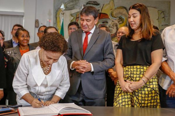 Regina Sousa assume Governo do Estado por duas semanas