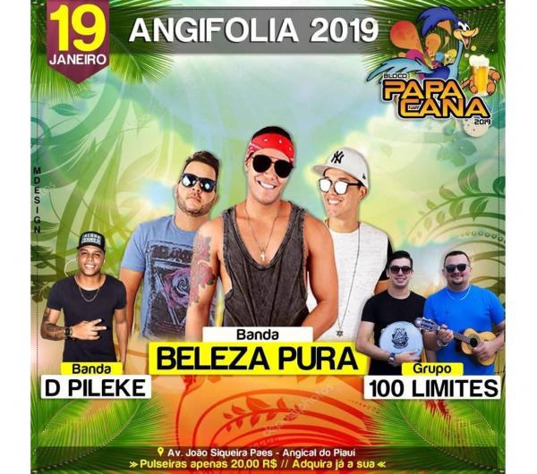 Angifolia 2019 acontecerá neste sábado com a banda Beleza Pura de Recife