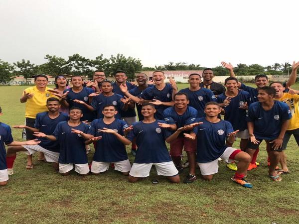 Carralo Paraguai está na final campeonato Municipal de Passagem Franca do Piauí.
