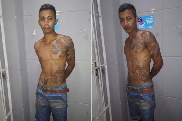 Criminoso considerado de alta periculosidade é preso em Monsenhor Gil