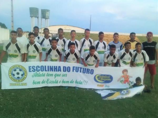 Time de futebol de base de Água Branca é vice-campeão em torneio disputado no Maranhão