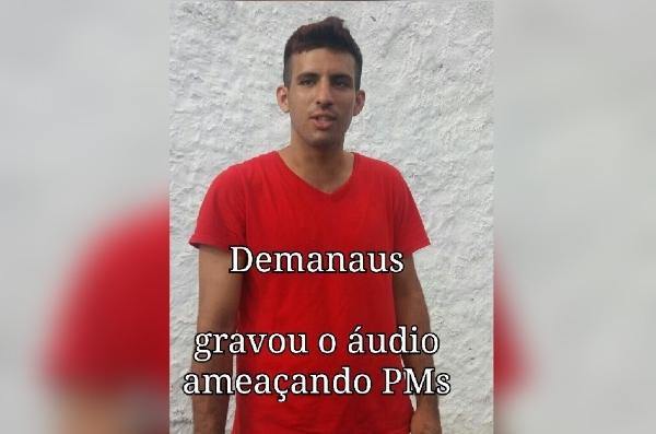 """Lucas Athair de Sousa, o """"Demanaus"""" (Imagem: Divulgação PC)"""