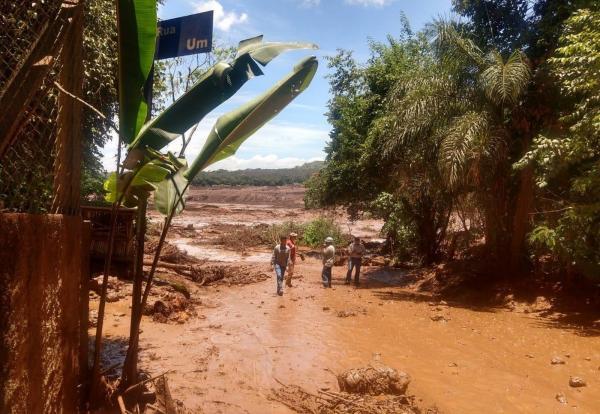 Barragem em Brumadinho, Minas Gerais (Imagem: Divulgação)
