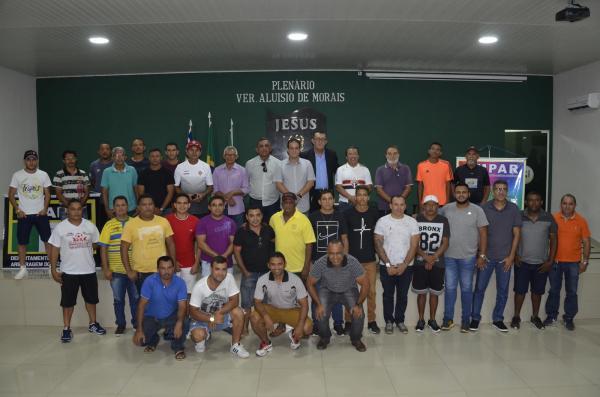 Reunião define detalhes da I Copinha de Base sub-15 e sub-17 do Médio Parnaíba