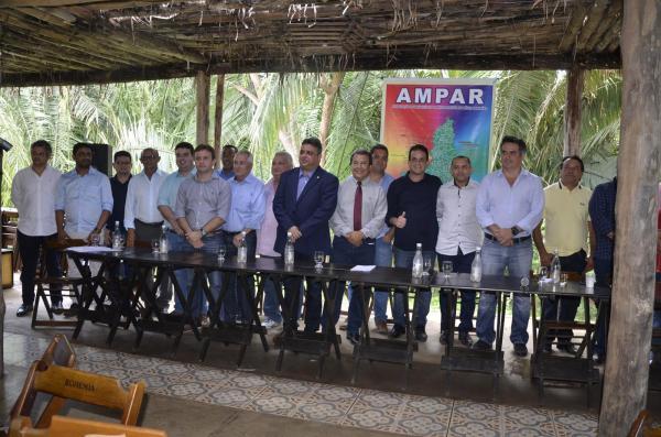 Posse da nova diretoria da AMPAR (Imagem: Valdomiro Gomes/CANAL 121)