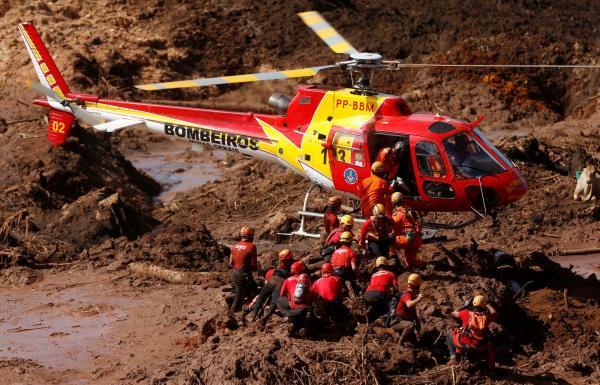 Cinco pessoas são presas por suspeita de responsabilidade no rompimento da barragem em Minas Gerais