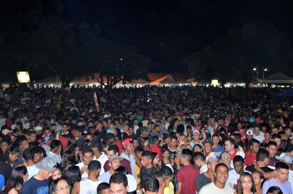 Imagem do carnaval de Água Branca em 2018 (Imagem: Valdomiro Gomes/CANAL 121)