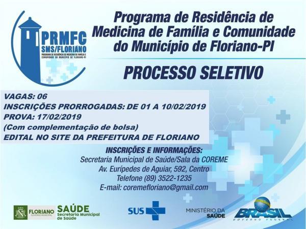 Programa de Residência em Medicina da Família e Comunidade