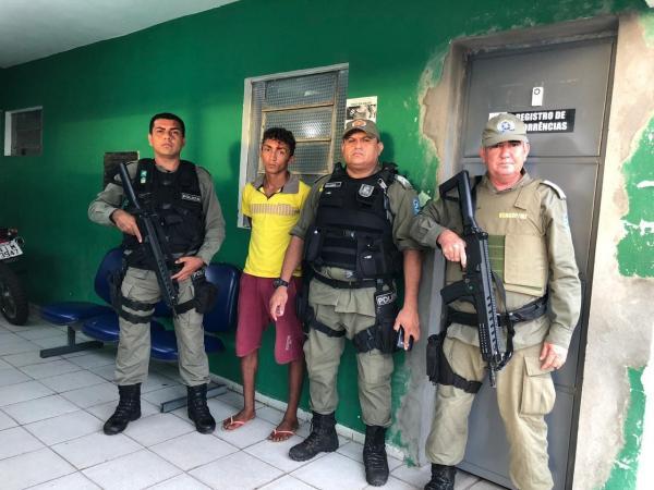 Piauí | Suspeito de assassinar a própria namorada a pauladas é preso pela PM